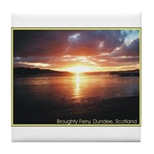 Broughty Ferry Tile Coaster
