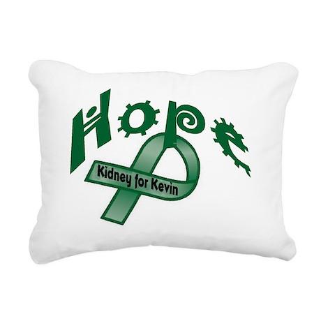 hopekidney Rectangular Canvas Pillow
