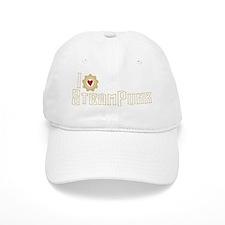 I Love Steampunk Baseball Baseball Cap