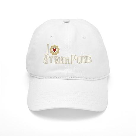 I Love Steampunk Cap