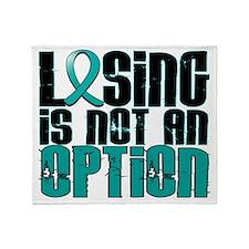 D Losing Is Not An Option PKD Throw Blanket