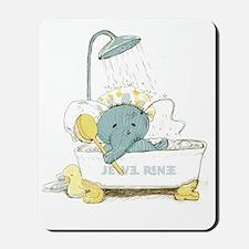 scrub-a-dub Mousepad