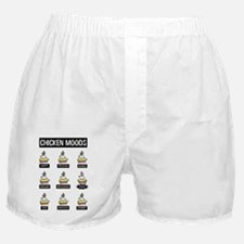 Chicken Moods Boxer Shorts