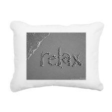 relax 300dpi pjs Rectangular Canvas Pillow
