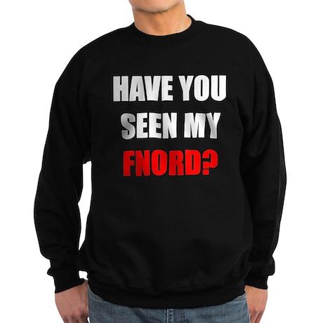 FNORD_10x10_black_apparel Sweatshirt (dark)