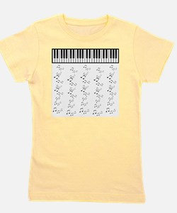 keyboard Girl's Tee