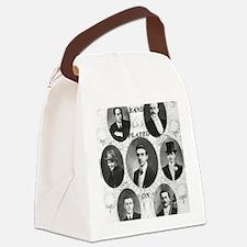 Wallace Hartley Band BIG Canvas Lunch Bag