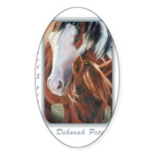 Horse Art Faces II Decal