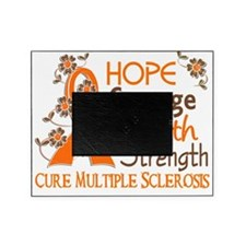 D Hope Courage Faith Strength 3 Mult Picture Frame