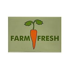 Farm Fresh Rectangle Magnet
