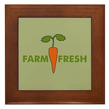 Farm Fresh Framed Tile