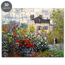 Pillow Monet Argenteuil Puzzle