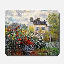 Pillow Monet Argenteuil Mousepad