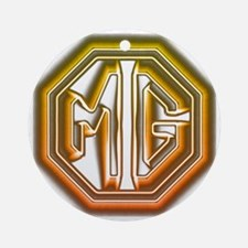 MG Cars Glow Round Ornament
