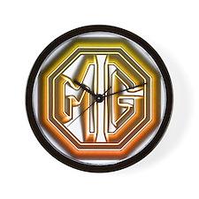 MG Cars Glow Wall Clock