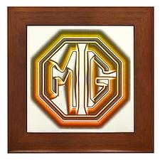 MG Cars Glow Framed Tile