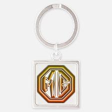 MG Cars Glow Square Keychain