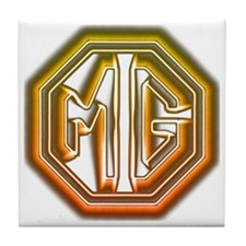 MG Cars Glow Tile Coaster