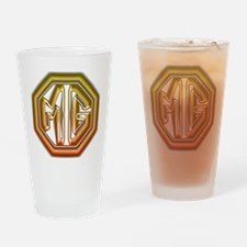 MG Cars Glow Drinking Glass