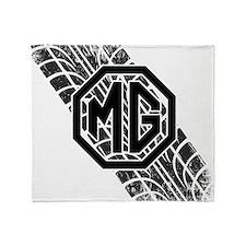 MG Cars Tire Tread copy Throw Blanket