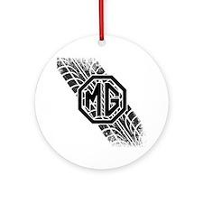MG Cars Tire Tread copy Round Ornament