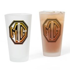 MG Cars Glow for white copy Drinking Glass