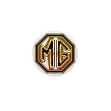 MG Cars Glow for white copy Mini Button