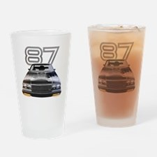 87 Grnd National for dark copy Drinking Glass