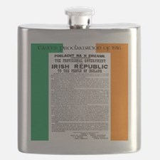 Easter Proclaimation of 1916 Flask