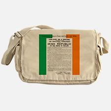 Easter Proclaimation of 1916 Messenger Bag