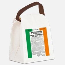 Easter Proclaimation of 1916 Canvas Lunch Bag