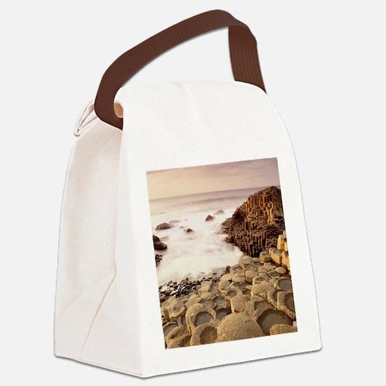 _Giants_Causeway_County_Antrim_Ir Canvas Lunch Bag