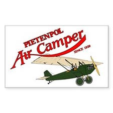 logo aircamper color rsu green Decal