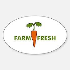 Farm Fresh Oval Decal