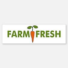 Farm Fresh Bumper Bumper Bumper Sticker