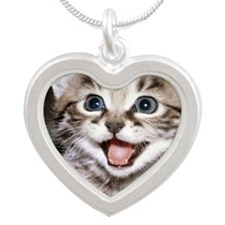 funny-cats-wallpaper-gallery Silver Heart Necklace