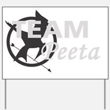 Team Peeta Yard Sign
