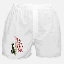 logo aircamper color green cream Boxer Shorts
