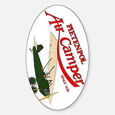 logo aircamper color green cream Decal