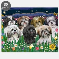 7 Shih Tzus - by JF Puzzle