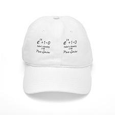 eulersIdentityPureGenius-bev copy Baseball Cap