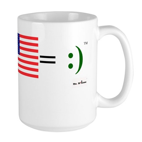 Happy Irish American Large Mug
