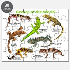 Geckos of the World Puzzle