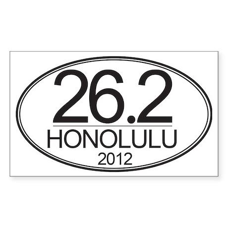 HON-12 (2) - 5x3 Oval Stkr Sticker (Rectangle)