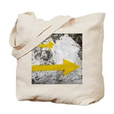 Yellow Arrows Tote Bag
