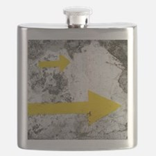 Yellow Arrows Flask