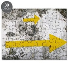 Yellow Arrows Puzzle