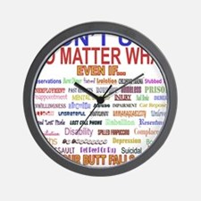 No MatterWhatTextColor. Wall Clock