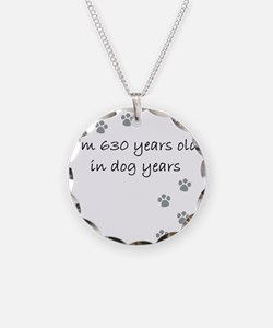90 dog years 2-1 Necklace