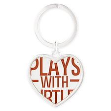 playsturtles Heart Keychain